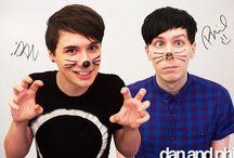 Dan and Phil /