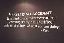 Succes / Een verzameling van uitspraken van mensen waarin zij hun definitie van en hun visie op succes geven.
