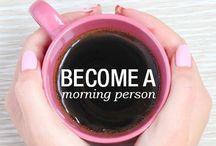 MORNING ☼ / morning is so haaaaaard but i can made it sweet