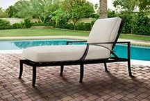 Arhaus Dream Outdoor Oasis / I live in Florida, where it's eternal summer. Outdoor living is how we do it.