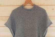 Knitting patterns | Sweaters / Knitting patterns for sweaters, cardigans, and ponchos