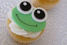 Frosch-Cupcake