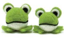 Frosch-Plüsch