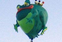 Frosch-Ballon