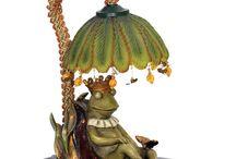 Frosch-Lampen