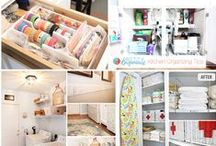 ORGANIZATION / Let's organized, find the pin you need to get your life or your house organized
