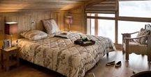 Chambres / Ambiance chalet de montagne, ou décoration contemporaine, découvrez nos intérieurs MGM.