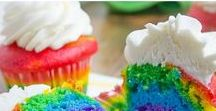 Rainbow / We love colorful food like the rainbow.