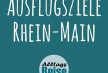 Ausflüge - Rhein-Main / Ausflugsziele im Rhein-Main-Gebiet, in Frankfurt am Main sowie in und um Darmstadt