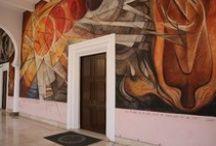MURALISTAS MEXICANOS / Obras murales de los grandes muralistas mexicanos y algunas otras de nuestra autoría / by GRUPO EDAM MÉXICO