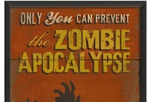 Zombie Apocalypse and Camping / Survival and Prep for disasters. Even though it may never happen, better safe than sorry. (Camping ideas also included)