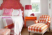 Διακόσμηση στο πορτοκαλί.