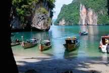 Beautiful beaches / Seascapes, beaches, seashores, coves and bays - seaside, coast and the ocean.
