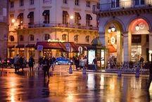 City scenes / Around town and city scenes