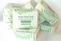 Natural handmade soap / Natural handmade soap ingredients and methods, including the cold process soap method. Chemical and toxin free, glycerine-rich, and naturally moisturising. These luxury soaps are both skin-friendly and eco-friendly.