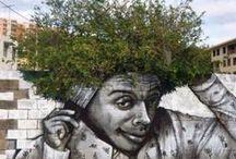 Street art and grafitti / All styles of street art and graffiti