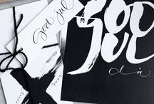 Inspiration // Calligraphy