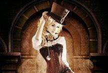 Goth & Steampunk / Gothic and Steampunk style