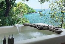 Baths and showers / Indoor and outdoor baths and showers