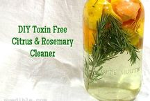 DIY and Natural Cleaning/Home Products