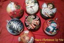 Constantinescu Diana / GLOBURI PICTATE de Deco Christmas by Dia