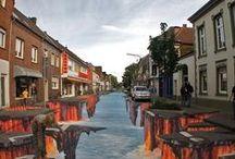Arte 3D y urbano