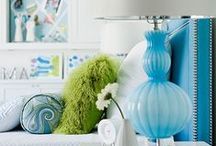 Lime and Turquoise