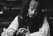 'Captain' Jack Sparrow. / Why I should explain this? What a psycho don't love Captain Jack Sparrow? ; - ;