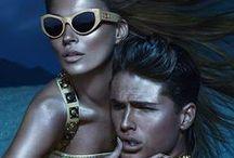 Versace sunglasses. ( Okulary przeciwsłoneczne Versace )