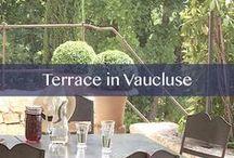 Terrace in Vaucluse