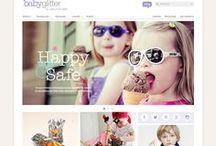 Baby and Kid websites / Welcome to the Kindergarten of Radial!