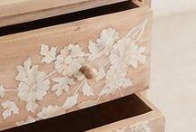 muebles pintados y restaurados / pintados a mano
