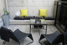 TERRAZAS / espacios, decoracion en espacios exteriores y patios interiores, ambientacion.
