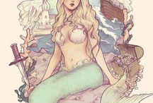 Mermaids / Living by the sea, one has to believe in mermaids