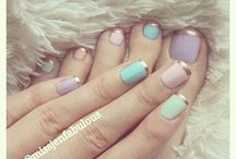 Toe nail designs / Nail polish designs for your toes
