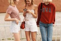 Street Style / Street style and fashion trends.