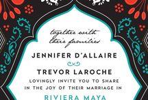 Destination Wedding Stationary / Invites, welcome itinerary, programs, menus