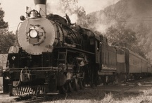 Trains and Railroad / My old railroad trains and railroad item collection, photos and art. / by Richard Rizzo Art & Design