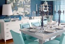 Dining in Style @ Central T.O. / Dining rooms may be going out of style (for today...tomorrow they'll be back in fashion), but when you have one, you want it to look spectacular. Design your home in style with these great ideas.