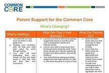 Common Core Standards / This board will provide common core information for children Kindergarten - 8th grade.
