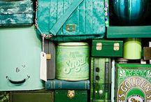 Green Cadre / Vert, la couleur du génie ou celle qu'il ne faut surtout pas porter au théâtre. Pour moi elle est ma préférée.
