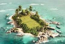 Tennis Channel | Exotic Tennis Courts / Beautiful, luxurious and unique tennis courts from around the world.