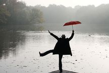 Rain - feel, hear, smell, see, healing... / Dancing and singing in the rain - what can be a more 'fun' demonstration of Happiness... / by Edith