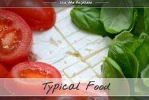 Typical food / 100% Italian food