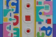"Arte Speculare / Serie di dipinti ""Arte Speculare"" di Pasquale Vinciguerra #quadri #painting #specular #art #artwork"