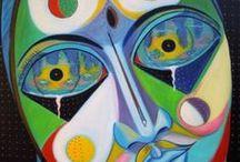 "Le Emozioni / Serie di dipinti ""Le Emozioni"" di Pasquale Vinciguerra #quadri #painting #emotions #artwork"