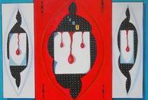 """Le Sofferenze / Serie di dipinti """"Le Sofferenze"""" di Pasquale Vinciguerra #quadri #painting suffering-in-art"""