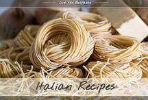 Italian recipes / Original Italian Recipes