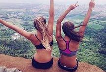 Sport / Running, cycling, climbing, acrobalance, mountain biking, slacklining, acroyoga - all the sports you love!