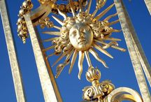 Sun Kings - Les Roi Soleil... / Louis XIV. of France, Akhenaten of Amarna in ancient Egypt,  Salomon, the wise King of Israel... / by Edith